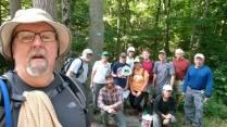 Eagle Beak Maintance Hike Pic 2
